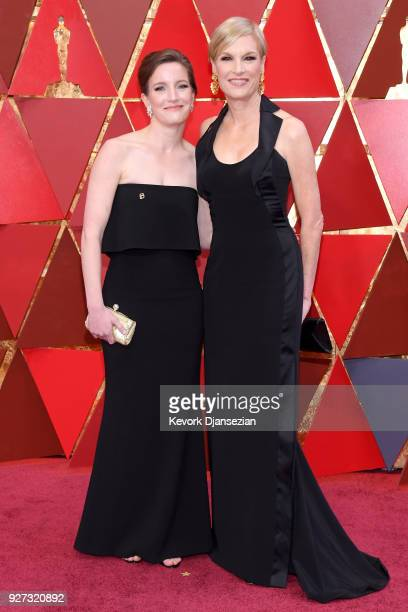 Cecile Richards and Lily Adams of Planned Parenthood attend the 90th Annual Academy Awards at Hollywood Highland Center on March 4 2018 in Hollywood...