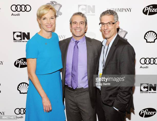 Cecile Richards Andy Cohen and Robert Safian attend Andy Cohen and Cecile Richards on Activism Pop Culture and Why Authenticity Is The Only Way...