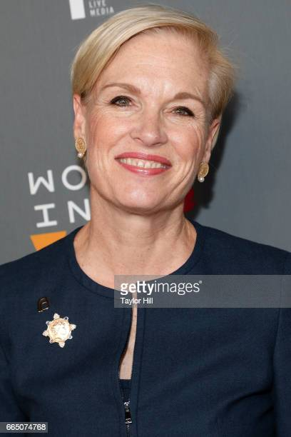 Cecile Richards attends Tina Brown's 8th Annual Women in the World summit at Lincoln Center for the Performing Arts on April 5 2017 in New York City