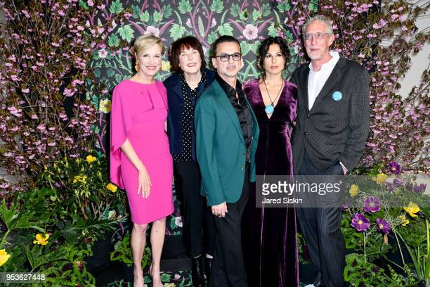 Cecile Richards Marilyn Minter Dave Gahan Jennifer SkliasGahan and Bill Miller attend Planned Parenthood Of New York City Spring Gala Honoring Cecile...