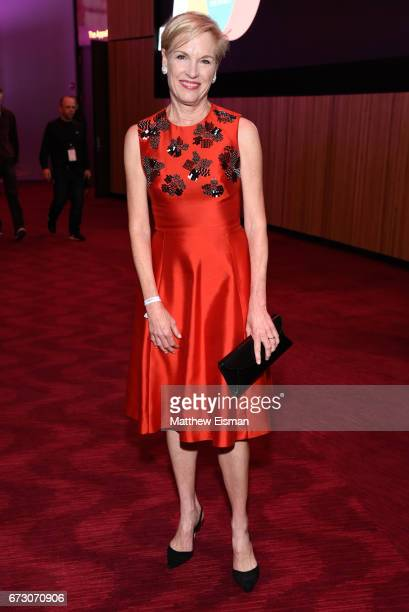 Cecile Richards President of Planned Parenthood attends 2017 Time 100 Gala at Frederick P Rose Hall Jazz at Lincoln Center on April 25 2017 in New...