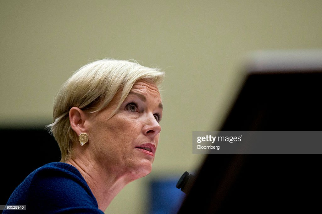 Cecile Richards, president of Planned Parenthood Federation of America Inc., pauses during a House Oversight and Government Reform Committee hearing in Washington, D.C., U.S., on Tuesday, Sept. 29, 2015. Conservative House Republicans have demanded a government shutdown if lawmakers don't defund Planned Parenthood, the women's reproductive health-care provider whose services include abortion. Photographer: Andrew Harrer/Bloomberg via Getty Images
