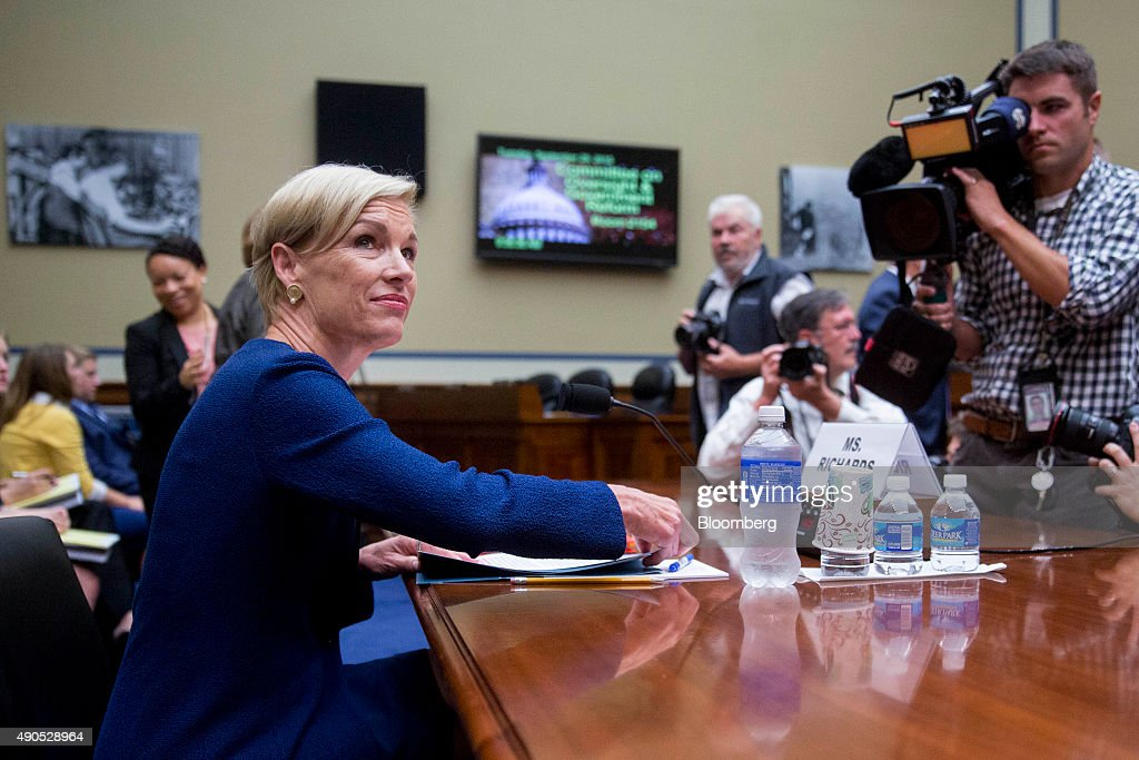 Cecile Richards, president of Planned Parenthood Federation of America Inc., arrives to a House Oversight and Government Reform Committee hearing in Washington, D.C., U.S., on Tuesday, Sept. 29, 2015. Conservative House Republicans have demanded a government shutdown if lawmakers don't defund Planned Parenthood, the women's reproductive health-care provider whose services include abortion. Photographer: Andrew Harrer/Bloomberg via Getty Images