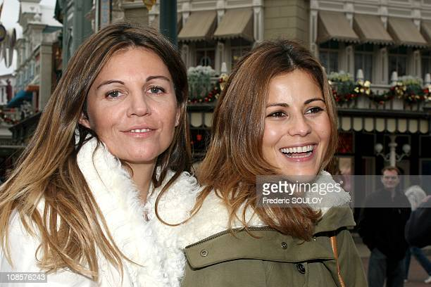 Cecile Simeone and Veronika Loubry in MarneLaVallee France on November 05th 2005