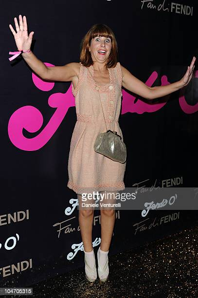 Cecile Togni attends the Fendi 'O For Duran Duran Party during Paris Fashion Week Ready To Wear Spring/Summer 2011 on October 3 2010 in Paris France