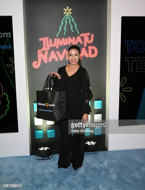 Cecilia Almendra Medina attends the gift lounge during the 19th annual Latin GRAMMY Awards at MGM Grand Garden Arena on November 13 2018 in Las Vegas...