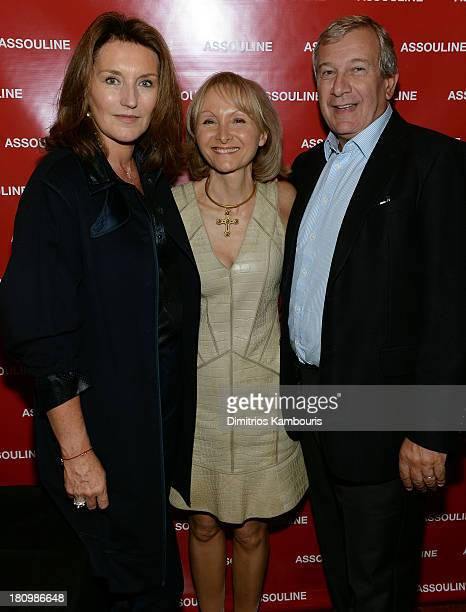 Cecilia Attias author Ketty PucciSisti Maisonrouge and Richard Attias attend ASSOULINE Martine and Prosper Assouline host a book signing for Ketty...