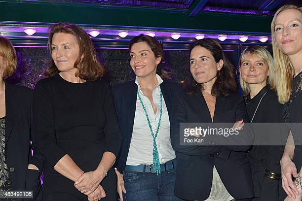 Cecilia Attias Daphne Roulier Mazarine Pingeot Anne Michelet and Adelaide de Clermont Tonnerre attend La Closerie Des Lilas Literary Awards 2014 7th...