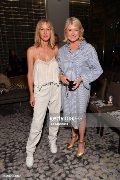 Cecilia Bonstorm and Martha Stewart attend Daily Front Row's Fashion Media Awards on September 6 2018 in New York City
