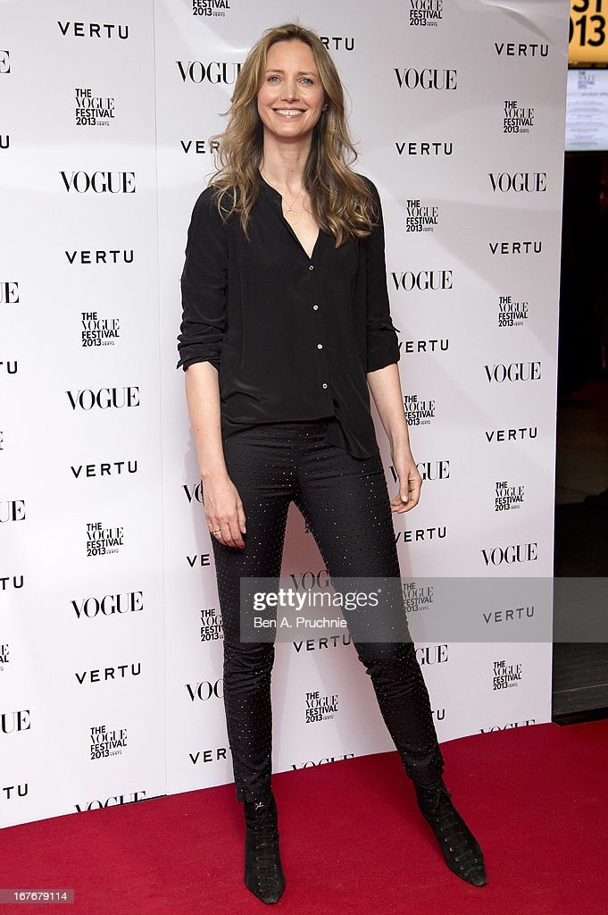 Cecilia Chancellorattends the opening party for The Vogue Festival in association with Vertu at Southbank Centre on April 27, 2013 in London, England.