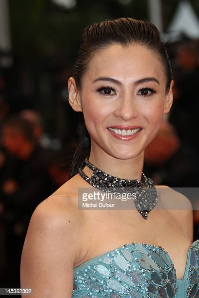 Cecilia Cheung attends the Closing Ceremony and 'Therese Desqueyroux' premiere during the 65th Annual Cannes Film Festival at Palais des Festivals on...