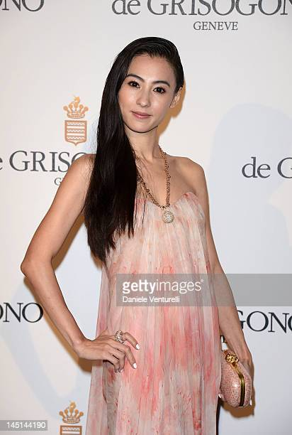 Cecilia Cheung attends the de Grisogono Party during the 65th Annual Cannes Film Festival at Hotel Du Cap on May 23 2012 in Antibes France