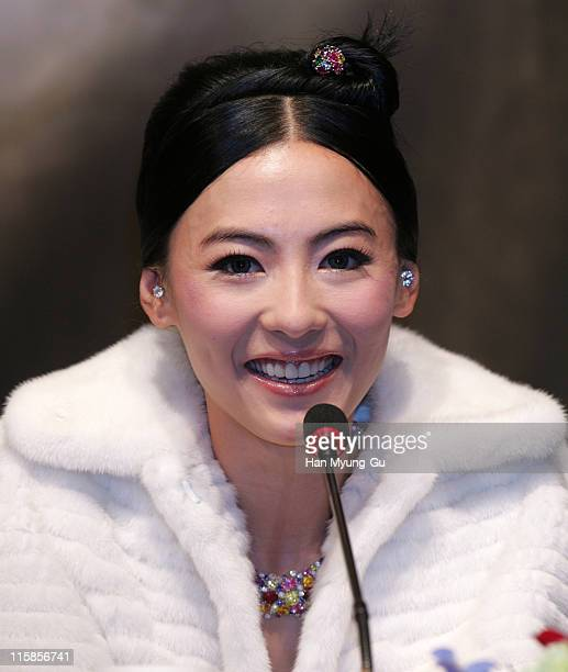 Cecilia Cheung during The Promise Press Screening in Seoul January 19 2006 at Shilla Hotel in Seoul South South Korea
