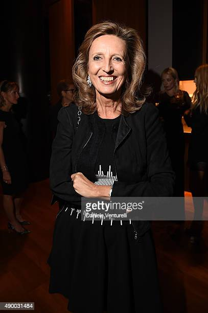 Cecilia Colussi Rossi attends the Bulgari dinner party during the Milan Fashion Week Spring/Summer 2016 on September 25 2015 in Milan Italy