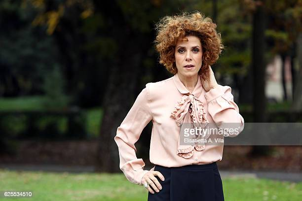 Cecilia Dazzi attends 'L'Amore Rubato' Photocall at Villa Borghese on November 24 2016 in Rome Italy