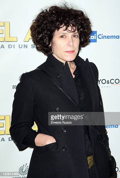 """Cecilia Dazzi attends the """"Bel Ami"""" screening at Space Moderno on April 12, 2012 in Rome, Italy."""