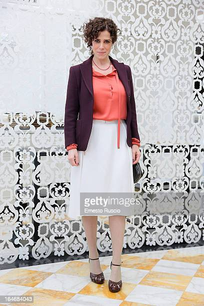 Cecilia Dazzi attends the 'Bianca Come Il Latte Rossa Come Il Sangue' photocall at Hotel Bernini on March 26 2013 in Rome Italy