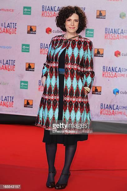 """Cecilia Dazzi attends the """"Bianca Come Il Latte, Rossa Come Il Sangue"""" premiere at Space Moderno on April 4, 2013 in Rome, Italy."""