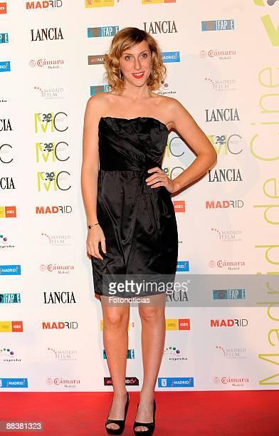 Cecilia Freire arrives at Madrid De Cine closing party held at the Circulo de las Bellas Artes on June 9 2009 in Madrid Spain