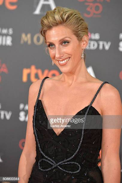 Cecilia Freire attends Goya Cinema Awards 2016 at Madrid Marriott Auditorium on February 6 2016 in Madrid Spain