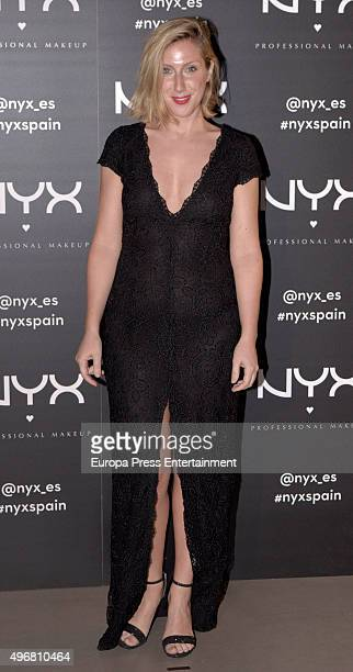 Cecilia Freire attends NYX Make Up party photocall on November 11 2015 in Madrid Spain