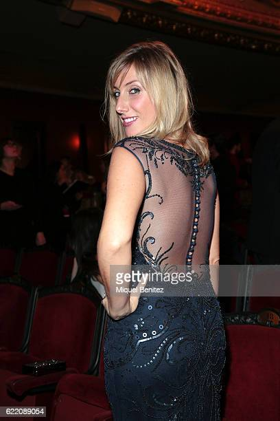 Cecilia Freire attends the 63th Ondas Gala Awards 2016 at the Gran Teatre del Liceu on November 9 2016 in Barcelona Spain