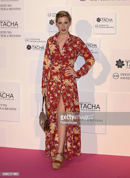 Cecilia Freire attends the Tacha Beauty and Javier de Benito Institute party at the Palacio de Santa Coloma on May 31 2016 in Madrid Spain