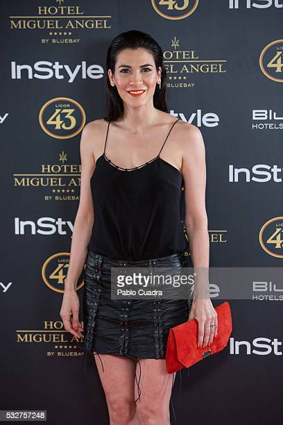 Cecilia Gessa attends the 'Live in Colors' photocall during the InStyle Beauty Day at the Miguel Angel Hotel Garden on May 19 2016 in Madrid Spain