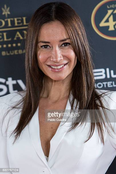 Cecilia Gomez attends the 'Live in Colors' photocall during the InStyle Beauty Day at the Miguel Angel Hotel Garden on May 19 2016 in Madrid Spain