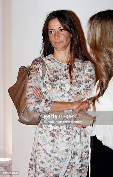 Cecilia Gomez attends the presentation of 'El Legado Casa de Alba' painting exhibition on September 14, 2012 in Madrid, Spain.