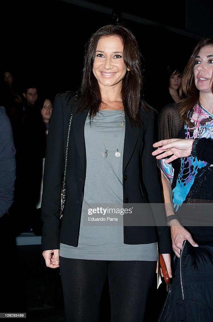Cecilia Gomez attends the Victorio & Lucchino fashion show during the Cibeles Madrid Fashion Week A/W 2011 at Ifema on February 19, 2011 in Madrid, Spain.