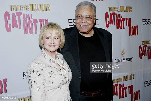 Cecilia Hart and James Earl Jones attend Broadway Premiere of Cat On A Hot Tin Roof at Broadhurst Theater on March 6 2008 in New York City