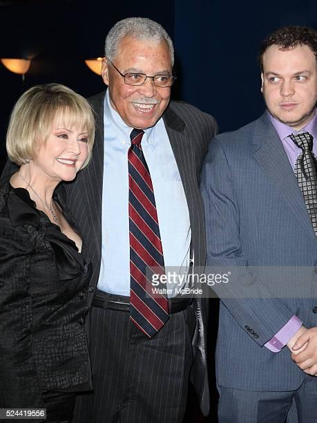 Cecilia Hart & James Earl Jones & Flynn Jones attending The Eugene O'Neill Theater Center's 11th Annual Monte Cristo Award honoring James Earl Jones...