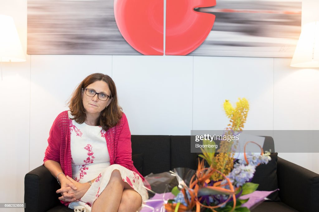 European Union  Trade Commissioner Cecilia Malmstrom Interview