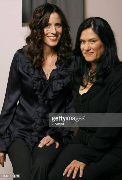 Cecilia Peck and Barbara Kopple directors during 31st Annual Toronto International Film Festival Shut Up and Sing Portraits at Portrait Studio in...