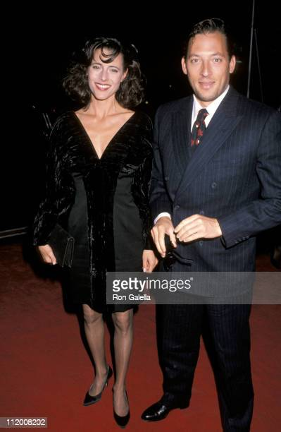 Cecilia Peck and Tony Peck during Torn Apart New York City Premiere at 57th Playhouse in New York City New York United States