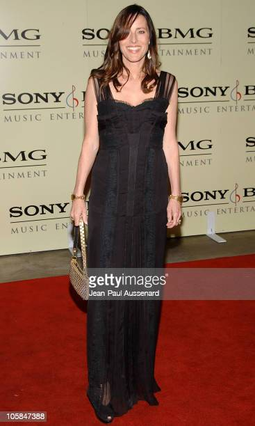 Cecilia Peck during 2007 Sony/BMG GRAMMY After Party Arrivals at The Beverly Hills Hotel in Beverly Hills California United States