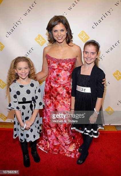 Cecilia Raymond Soledad O'Brian and Sofia Raymond attend the 5th Annual charity ball at the Metropolitan Pavilion on December 13 2010 in New York City