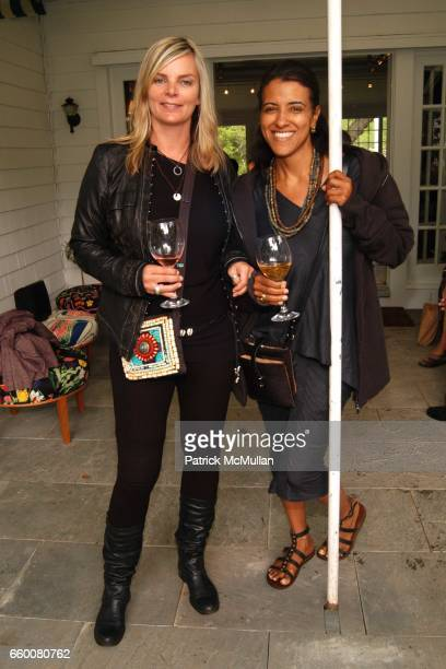 Cecilia Rodhe and Annette Azan attend c/o The Maidstone hosts BONNIE YOUNG FASHION SHOW at The Maidstone on May 31 2009 in East Hampton New York