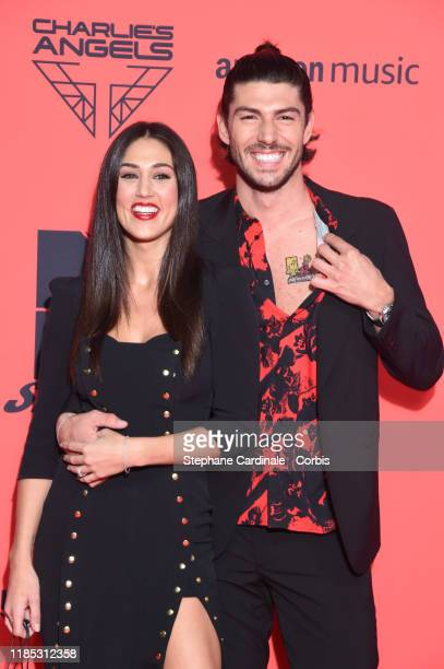 Cecilia Rodriguez and Ignazio Moser attend the MTV EMAs 2019 at FIBES Conference and Exhibition Centre on November 03 2019 in Seville Spain