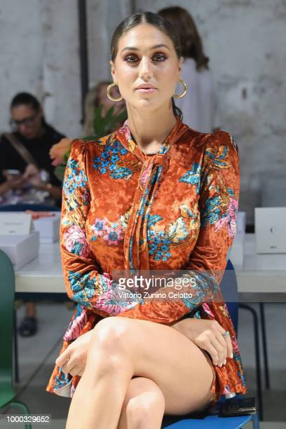 Cecilia Rodriguez attends Aniye By Fashion Show SS19 on July 16 2018 in Milan Italy