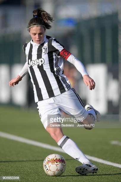 Cecilia Salvai during the Juventus Women v Valpolicella Chievo Verona Women match at Juventus Center Vinovo on January 13 2018 in Vinovo Italy
