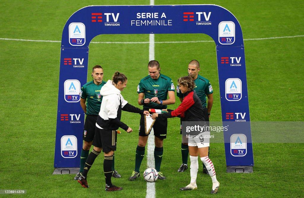 AC Milan v Juventus - Women Serie A : News Photo