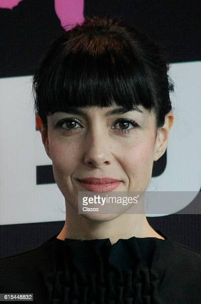Cecilia Suarez poses during the presentation of the movie 'La Vida Inmoral de la Pareja Ideal' on October 17 Mexico City Mexico