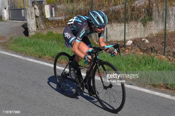 Cecilie Uttrup Ludwig of Denmark and Team Bigla / during the 44th Trofeo Alfredo Binda-Comune di Cittiglio 2019, Women a 131,1km race from Taino to...