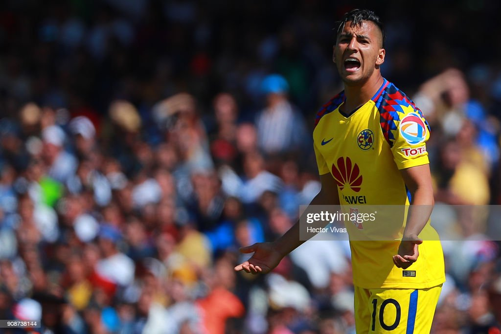 Pumas UNAM v America - Torneo Clausura 2018 Liga MX