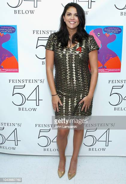 Cecily Strong attends 2018 Broadway Acts For Women at Feinstein's/54 Below on September 30 2018 in New York City