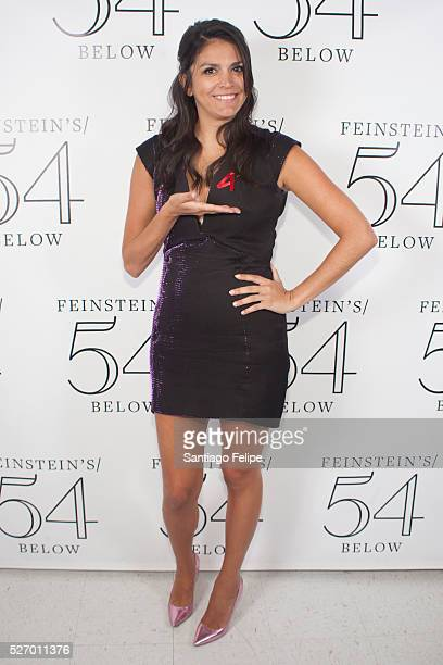 Cecily Strong attends Broadway Acts For Women A StarStudded Night Of Karaoke And Comedy at 54 Below on May 1 2016 in New York City