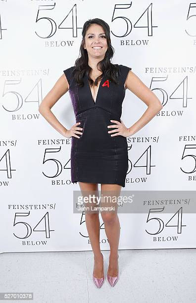 Cecily Strong attends Broadway Acts For Womena starstudded kight of karaoke and comedy at 54 Below on May 1 2016 in New York City
