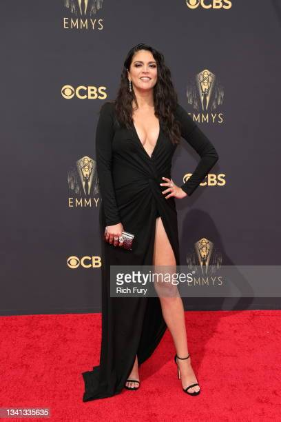 Cecily Strong attends the 73rd Primetime Emmy Awards at L.A. LIVE on September 19, 2021 in Los Angeles, California.